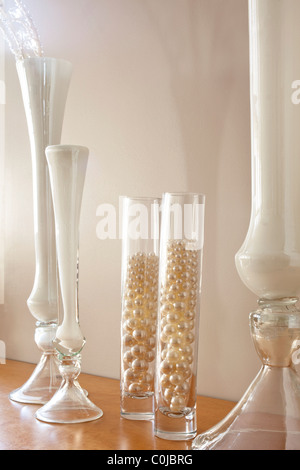 Decorative Glass Vases And Beads Stock Photo 34825172 Alamy