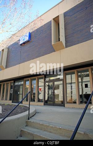 City hall in downtown Joliet Illinois USA - Stock Photo