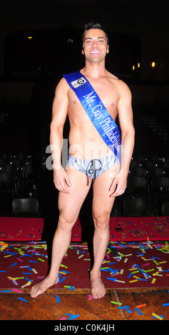 Winner John Caputo Philadelphia Mr. Gay 2008 Competition at the University of the Arts' Levitt Auditorium Philadelphia, - Stock Photo