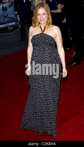 Gillian Anderson, UK Premiere of 'The X-Files: I Want to Believe' held at the Empire Leicester Square - Arrivals - Stock Photo