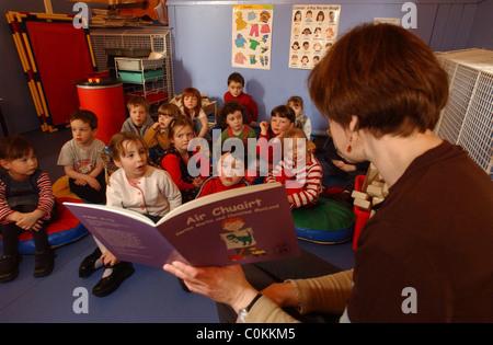 Gaelic speaking Nursery in Edinburgh - Stock Photo