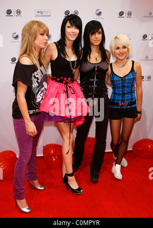 Fraeulein Wunder The Dome 47 at SAP Arena - Red carpet arrivals Mannheim, Germany - 29.08.08 - Stock Photo
