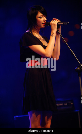Fraeulein Wunder The Dome 47 at SAP Arena - Show Mannheim, Germany - 29.08.08 - Stock Photo