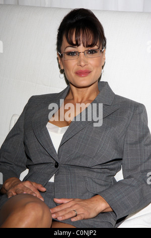 lisa ann as serra paylin on the set for the first day of