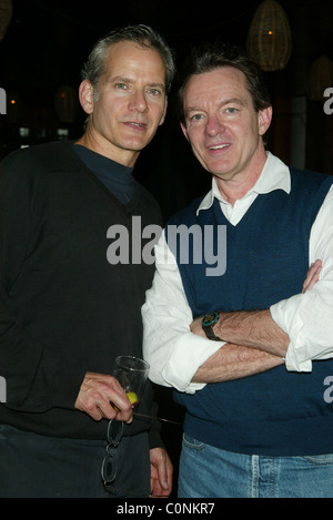 Campbell Scott, Lawrence Wright The After Party for the Off-Broadway one man show 'The Athiest' at the Barrow Street - Stock Photo