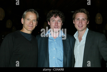 Campbell Scott, Ronan Noone and Justin Waldman The After Party for the Off-Broadway one man show 'The Athiest' at - Stock Photo
