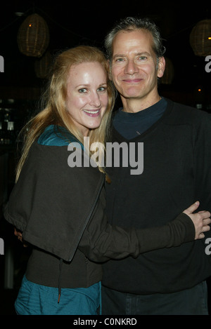 Katie Finneran, Campbell Scott The After Party for the Off-Broadway one man show 'The Athiest' at the Barrow Street - Stock Photo