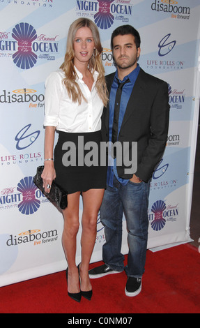 Nicky Hilton and David Katzenberg Attends Life Rolls On Foundation's 'Night By the Ocean' held at Grand Ballroom - Stock Photo