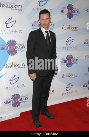 Jeffrey Donovan   Attends Life Rolls On Foundation's 'Night By the Ocean' held at Grand Ballroom at Hollywood & - Stock Photo