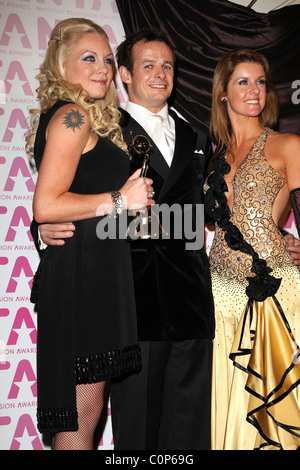 Rita Simons, Winner of 'Best Newcomer Award' with Austin Healey and Erin Boag National Television Awards 2008 held - Stock Photo