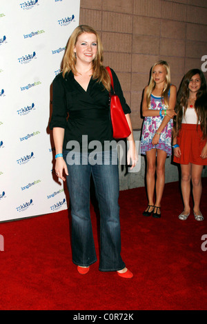 Melissa Joan Hart Jonas Brothers Celebrate the Launch of 77Kids held at The Roxy Hollywood, California - 14.11.08 - Stock Photo