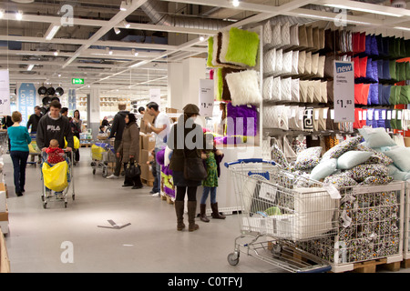 Ikea store interior people shopping and waiting at the for Ikea locations plymouth meeting pa