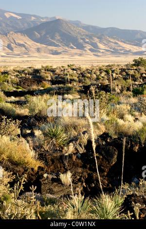 Carrizozo Malpais Lava Flow, New Mexico - Stock Photo