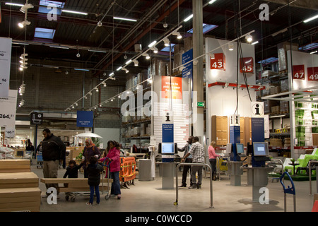 Ikea store interior stock photo 47547083 alamy for Ikea shops london