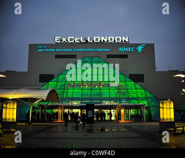 Excel London Exhibition Centre - Stock Photo