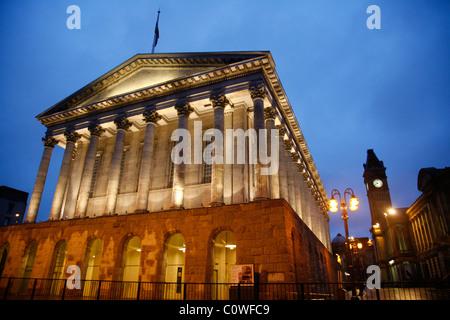 Town Hall at Chamberlain Square, Birmingham, England, UK. - Stock Photo