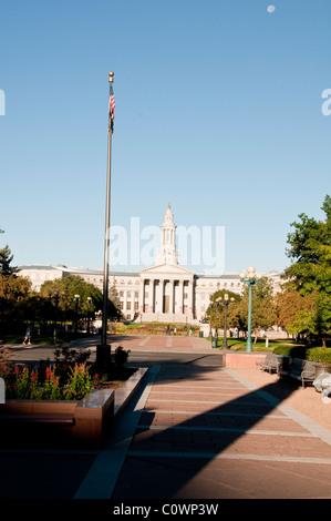 Denver City Council Building,State Capital,Denver,Colorado, USA - Stock Photo