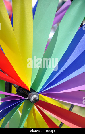 Lawn and Garden Wind Spinner - Stock Photo