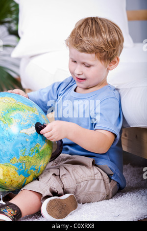 Learning about Earth - Stock Photo