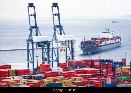Port of Salvador, Brazil - Stock Photo