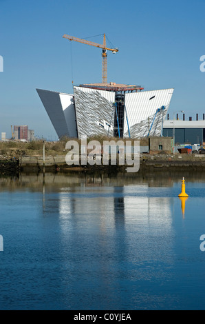 Titanic Signature Building, Belfast. - Stock Photo