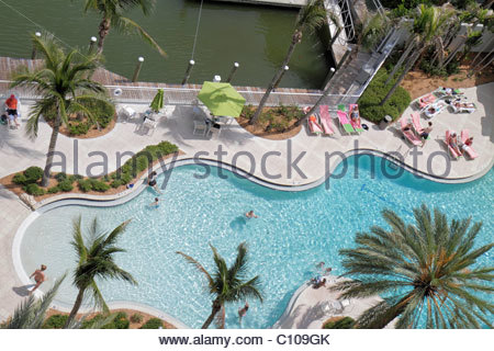 It S A Photo Of A Swimming Pool View From The Top We See