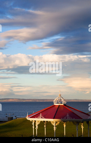 Bandstand on The Butts St Andrews Fife Scotland - Stock Photo