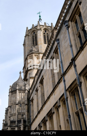 Tom Tower, Christ Church, Oxford - Stock Photo