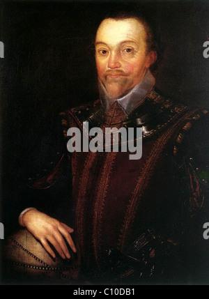 Sir Francis Drake - Stock Photo