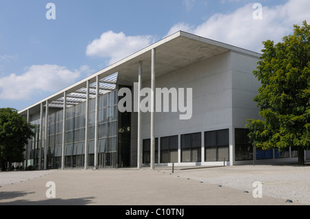 Pinakothek der Moderne, art museum, Munich, Bavaria, Germany, Europe - Stock Photo