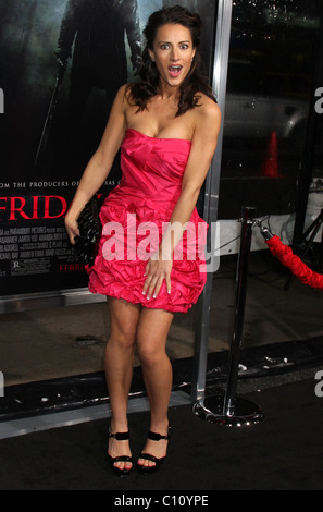 America Olivo 'Friday The 13th' Los Angeles Premiere Grauman's Chinese Theatre - Arrivals Hollywood, California - Stock Photo