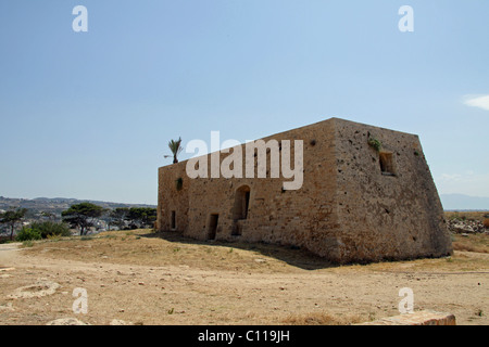 Venetian Fortezza, Fortress, Rethymnon, Rethymno, Crete, Greece, Europe - Stock Photo