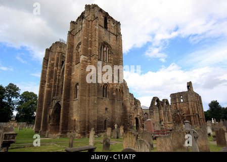 Elgin Cathedral, known as 'The Lantern of the North' Elgin, Scotland, United Kingdom, Europe - Stock Photo