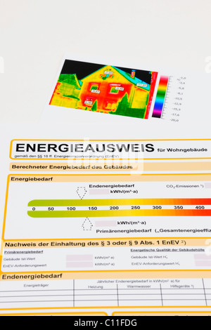 Energy pass for residential building