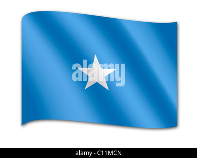 Flag of Somalia - Stock Photo