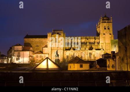 Se Cathedral, Oporto, Portugal - Stock Photo