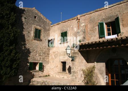 Ermita del Puig de Maria, Pollensa, Mallorca - Stock Photo