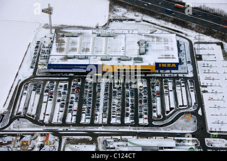 aerial view of the ikea store in milton keynes stock photo. Black Bedroom Furniture Sets. Home Design Ideas