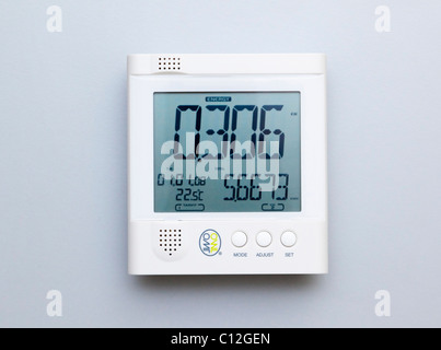 electricity energy monitor - Stock Photo