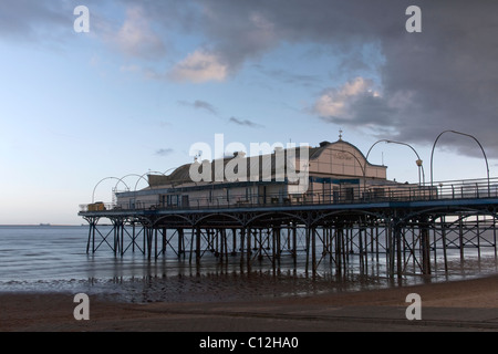 Cleethorpes Pier, North East Lincolnshire Feb 2011 - Stock Photo