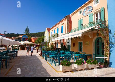 Fiskardo [ Φισκάρδο ] , Kefalonia; Greek Ionian Islands - Stock Photo
