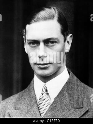 British Royalty. King George VI of England, 1936. - Stock Photo
