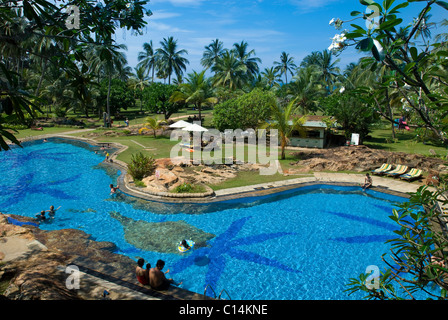 Bentota Beach Hotel, Bentota, Sri Lanka - Stock Photo