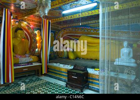 Temple of the Sacred Tooth location, Kandy, Sri Lanka