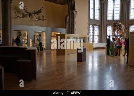 GLASGOW UNIVERSITY HUNTERIAN MUSEUM SCOTLAND TRAVEL UNITED KINGDOM - Stock Photo