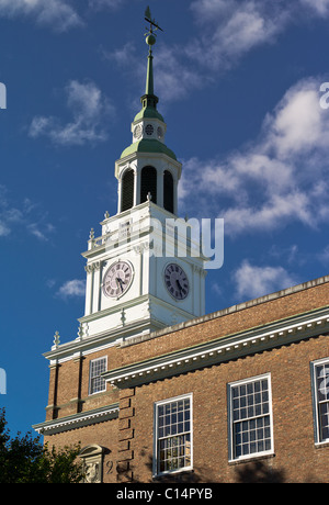 DARTMOUTH COLLEGE CHURCH HANOVER NEW HAMPSHIRE USA - Stock Photo