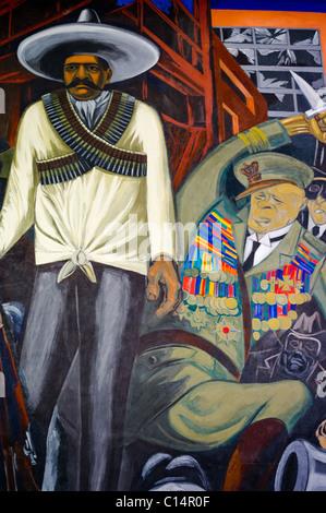 THE EPIC OF AMERICAN CIVILIZATION (1932-34) JOSE CLEMENTE OROZCO (1883-1949) - Stock Photo