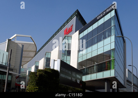 united kingdom west london white city the new westfield shopping centre - Stock Photo