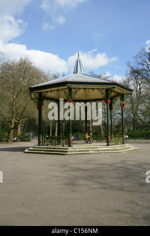 Battersea Park Bandstand, London, UK - Stock Photo