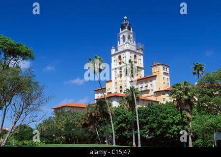 Biltmore Hotel, Coral Gables, Miami, Florida, USA - Stock Photo